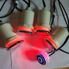 4 шт. muitc цвет RGB ванна водонепроницаемый светодиодный светильник с 1 шт. переключатель контроллер и 1 шт. адаптер 12 В DC 1A