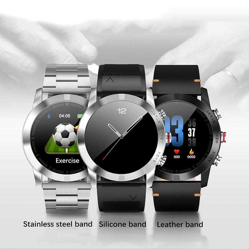 <font><b>2019</b></font> <font><b>New</b></font> <font><b>Smart</b></font> <font><b>Watch</b></font> IP68 Waterproof Smartwatch Heart Rate Monitoring Information Reminds Multi-sport Mode <font><b>Smart</b></font> Bracelet image