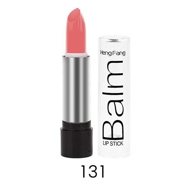 Cheap Long-lasting Lipstick Pigment Shimmer Primer Nude Lip Stick Waterproof Moisturizer Lip Gloss Makeup Lip Batom Cosmetics 4