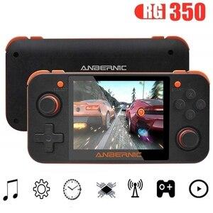 RG350 Ретро видео игра портативная игровая консоль мини 64 бит 3,5 дюймов IPS экран Двухъядерный Встроенный 5000 + Классический игровой плеер PS1