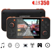 RG350 Retro Video Game Handheld Game Console MINI 64 Bit 3.5 inch IPS Screen Dual Core Built in 5000+ Classic Game Player PS1