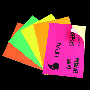 Color A4 Print Label Sticker Writing Blank Mattepaper Pink Red Self-sticking Adhesive Manual DIY Ink Jet Printer Gift Box Laser