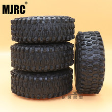 MJRC 1.9-inch 120mm rubber banden voor Traxxas 1/10 rock track Redcat SCX10 II axiale 90046 90047 trx-4 RC4WD d90 d110 TF2 RC auto(China)