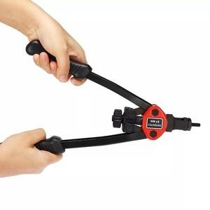 Image 4 - ALLSOME Rivet Nut Guns Auto Riveter Tool BT 606 Riveter Nut tool Hand Insert Rivet Nut Tool Manual Mandrels 6 32 8 32 BT 605