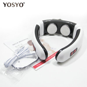 Image 5 - Electric Pulse Back and Neck Massager Far Infrared Heating Pain Relief Tool Health Care Relaxation