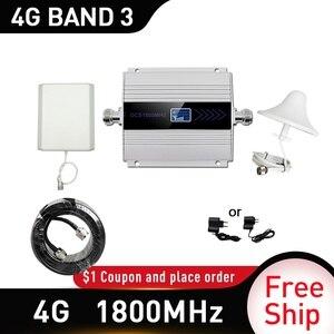 Image 1 - 4G LTE CDMA 1800 MHz โทรศัพท์มือถือสัญญาณ Booster Repeater DCS 1800 MHz โทรศัพท์มือถือ Cellular GSM 1800 โทรศัพท์มือถือโทรศัพท์รัสเซีย