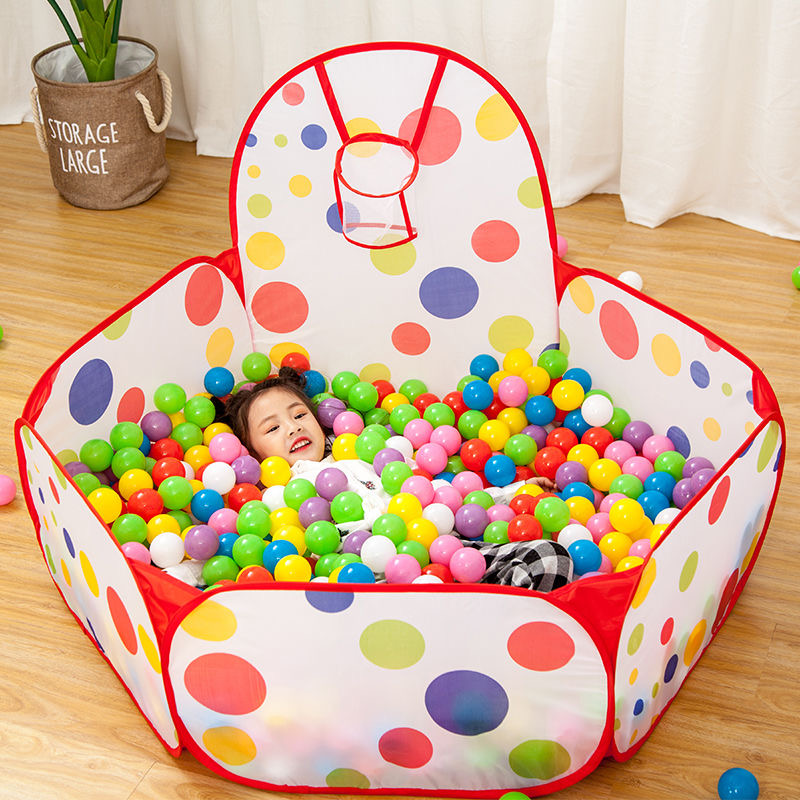 1,5 м портативный детский манеж детский мячик с Баскетбольным кольцом детский сухой мяч бассейн складывающиеся уличные балленбак игрушки