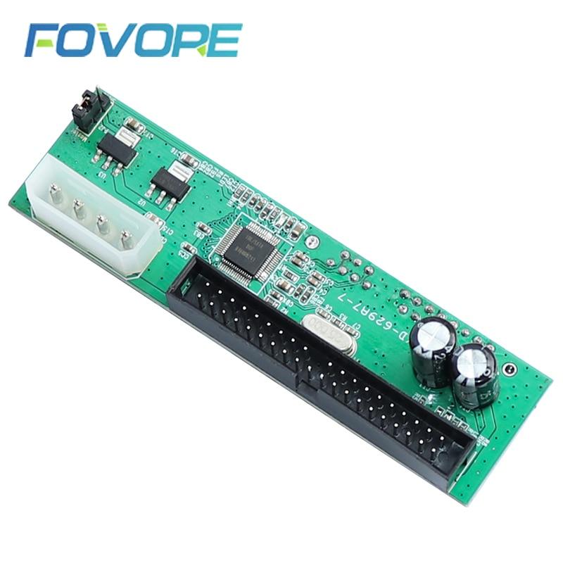 Sata para pata ide conversor adaptador plug & play 7 + 15 pinos 3.5/2.5 sata hdd dvd