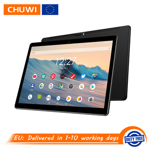 Image 1 - CHUWI Hi9 Air 4G LTE Phone Call Android 8.0 Helio X23 Deca Core Tablets 10.1 inch IPS Screen GPS 8000mAh 5MP+13MP Dual Cameras