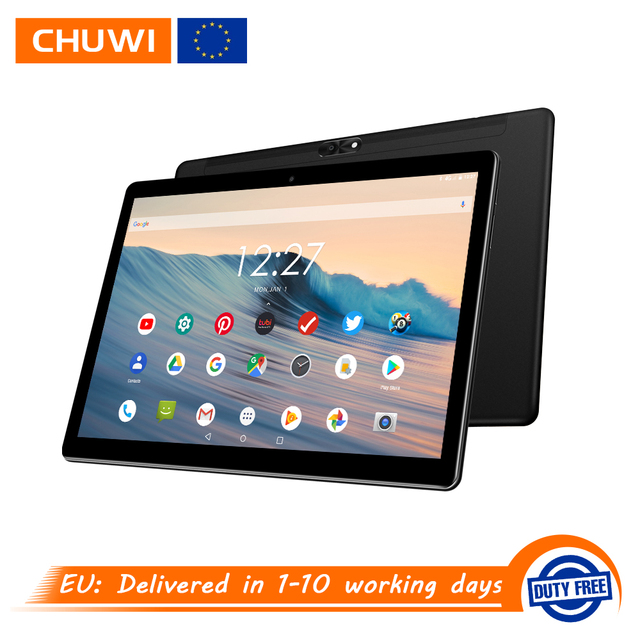 CHUWI Hi9 Air 4G LTE Phone Call Android 8.0 Helio X23 Deca Core Tablets 10.1 inch IPS Screen GPS 8000mAh 5MP+13MP Dual Cameras