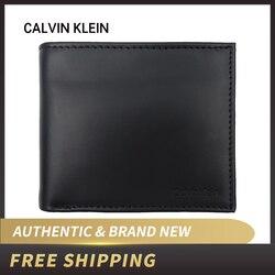 Authentic Original & Brand new Luxury Calvin Klein CK Leather Wallet 79349