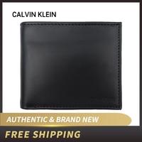 Authentische Original & Brand neue Luxus Calvin klein CK Leder Brieftasche 79349