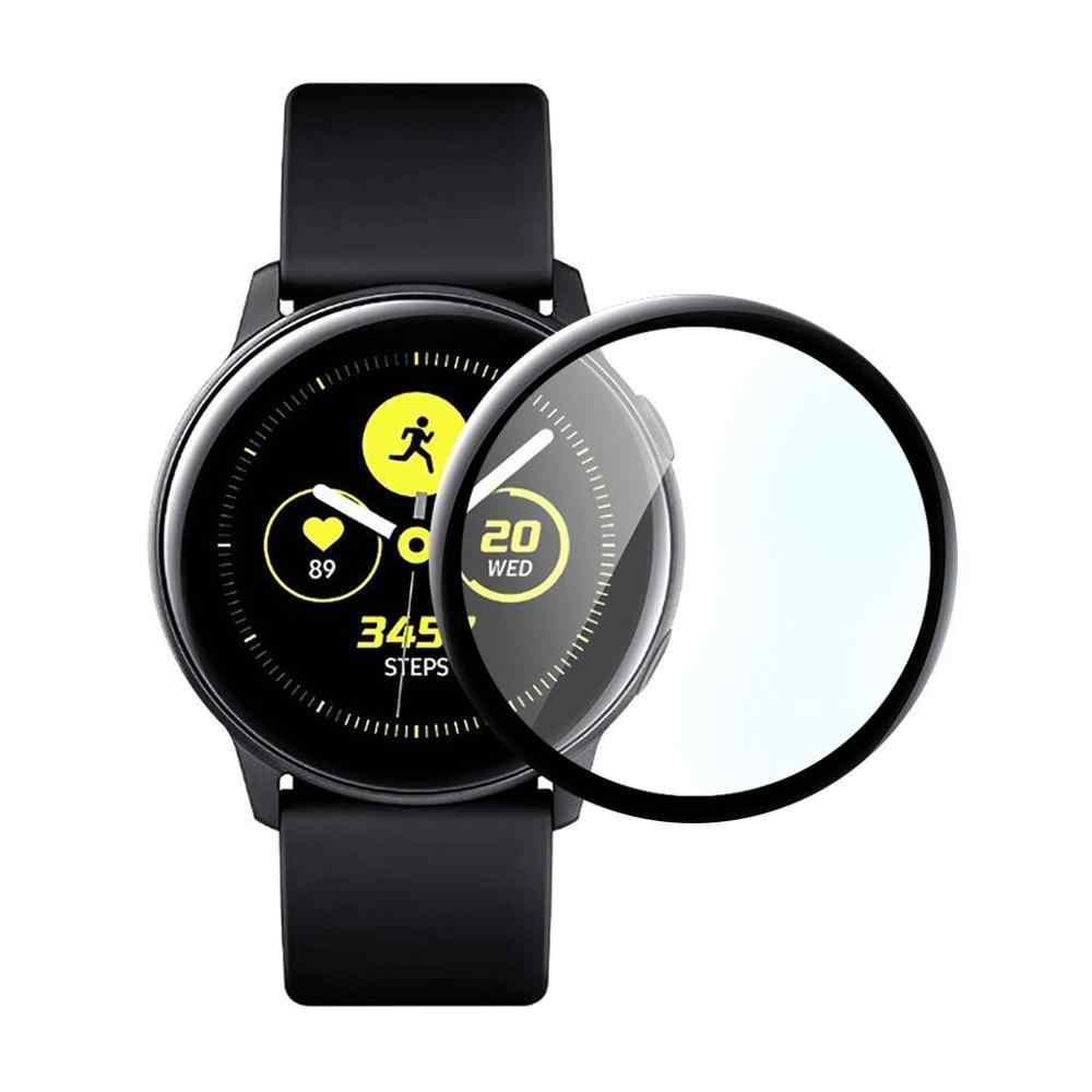 Cubierta completa 3D vidrio templado para Samsung active2 40mm 44mm Protector de pantalla de vidrio para active 2