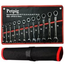 Clé à tête fixe jeu de clés à cliquet 72 dents outils de réparation de voiture jeu doutils à main clés clé à cliquet clé à cliquet universelle