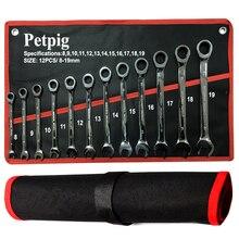 Festen Kopf Schlüssel Wrench Set Ratsche 72 Zähne Auto Reparatur Werkzeuge Hand Tool Set Schlüssel Ratsche Spanner Universal Ratschen kombinationsschlüssel