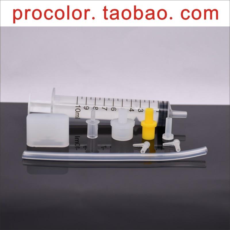 Печатающая головка для технического обслуживания и ремонта чистящая жидкость наборы пигментных сублимационных чернил очиститель инструмент для Canon hp EPSON brother печатающая головка - Цвет: ALL Universal tool