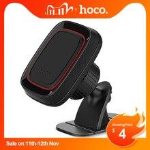 HOCO أفضل حامل هاتف السيارة المغناطيسي حامل آيفون X Xs ماكس XR 8 سامسونج S9 الهاتف المحمول المغناطيس جبل 360 دوران حامل في السيارة