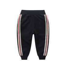 IENENS Fashion Baby Boys Kids Cotton Trousers Clothes Children Boy Casual Elastic Waist Long Pants Clothing md 151 winter fashion children stripe print harem trousers spring autumn boy clothes kids casual elastic waist long sport pants