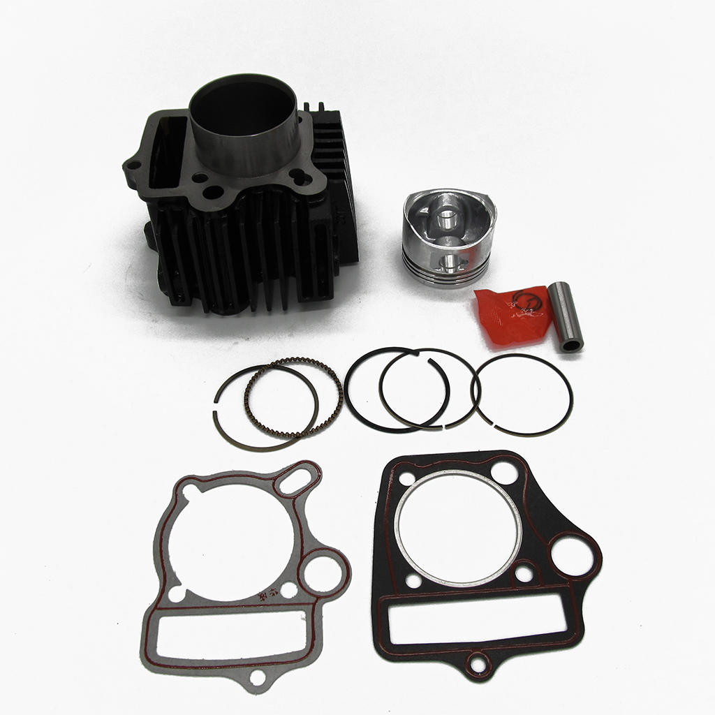 Motos grand alésage 52mm cylindre Kit de reconstruction 110cc moto Scooter ATV