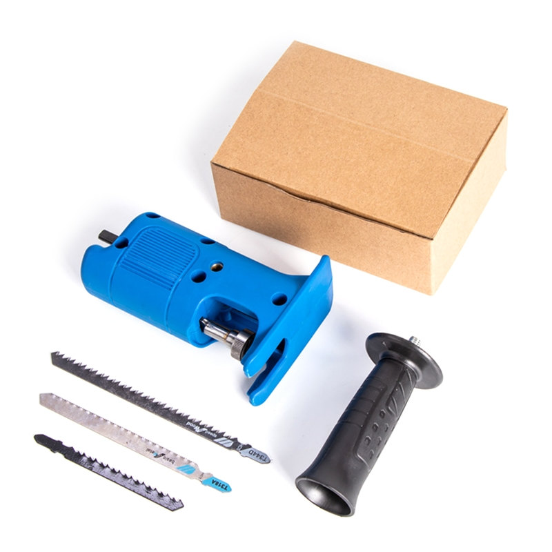 Cordless Reciprocating Saw Adapter Set Electric Drill Converter Modified Tools