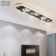 Luz de techo led giratoria ajustable, lámpara de techo con montaje en superficie para sala de estar, nuevo diseño artístico