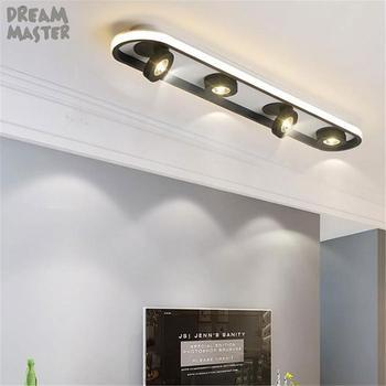 Nuevo diseño de arte Luz de techo led giratoria ajustable, lámpara de...