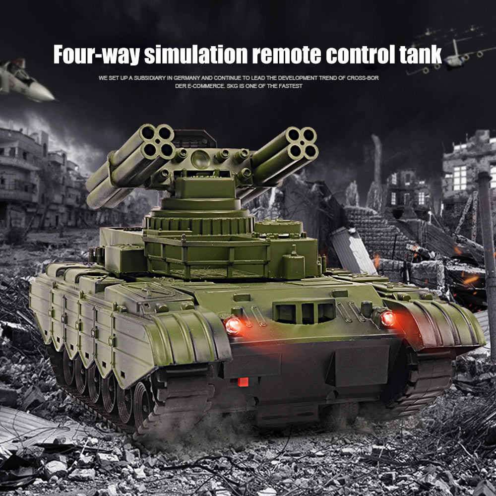 Zbiornik rc ładowarka bitwa uruchomienie cross-country śledzony pilot pojazd Raido Tank kit Hobby zabawki chłopięce dla dzieci prezent dla dzieci