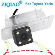 ZIQIAO for Toyota Yaris 2018 2019 2020 Hatchback HD Dynamic Trajectory Parking Line Car Monitor Reverse Backup Camera HS085 liislee dynamic guidance rear camera for toyota ist urban cruiser 2007 2016 hd 860 pixels parking intelligentized