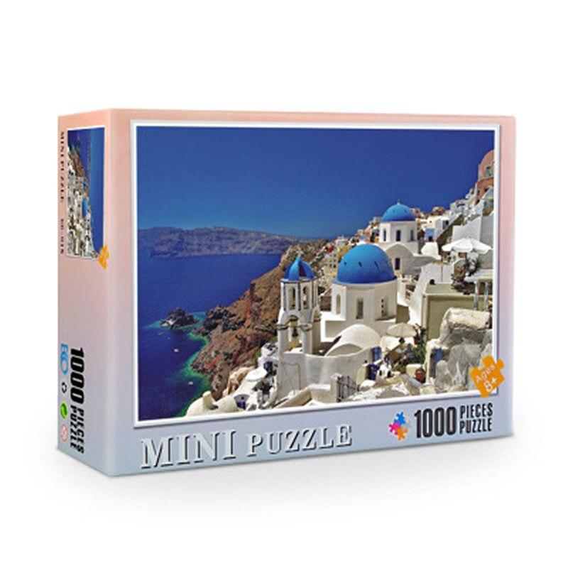Jigsaw Puzzle 1000 Pieces 38x26 cm Assembling Picture Puzzle For Adults Educational Toys Puzzles Pare Adultos 4