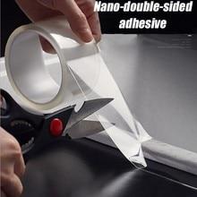 Trasparente Nastro Impermeabile Senza Tracce Di Migliaia Di Volte Lavato Con Adesivi Magici Nano double sided Adesivo Per La Casa