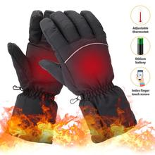 Bicycle-Gloves Hand-Warmer Cycling Motorcycle Electric Winter LIXADA USB Rechargeable-Battery