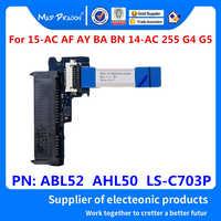 Conector HDD Cable para HP 15-ac af ay ba bn 14-ac 255 G4 G5 15t-ac aj SATA Disco Duro SSD adaptador ABL52 AHL50 LS-C703P