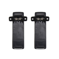 5ra uv 5re 2pcs קליפ סוללה עבור Baofeng UV-5R UV-5ra UV-5rb UV-5rc 5rd 5re 5re + (1)