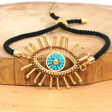 Go2boho Bracelets For Women MIYUKI Turkish Evil Eye Bracelet Pulseras 2020 Fashion Jewelry Handmade Nazar Boncuklu Bileklik