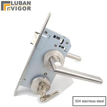304 stainless steel Solid door handle, absolutely luxurious, value for money,Split indoor handle,home hardware - sale item Hardware