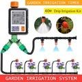 30 м автоматический набор для полива сада, набор для полива, система капельного орошения, контроллер полива сада, орошения