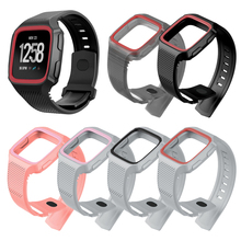 Two-color TPU silicone smart bracelet for Fitbit Versa sports watch st