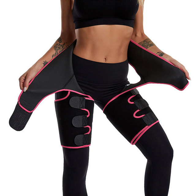 Three-In-One Lift Hip Tummy Belt Moulding Bodybuilding Siamesed Low Waist Lift Hip Band sweet sweat waist trimmer 5
