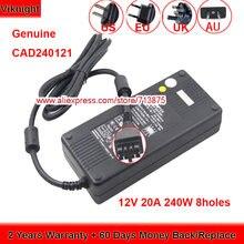 Подлинный 12v 20a cad240121 адаптер переменного тока для tyco
