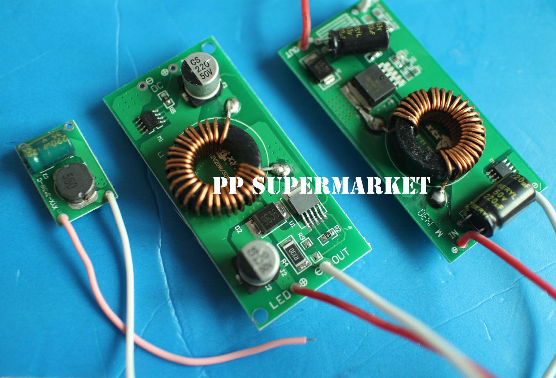 Яркий светодиодный комплект высокой мощности 12 В 10 Вт 20 Вт 30 Вт 50 Вт 100 Вт 12 В постоянного тока