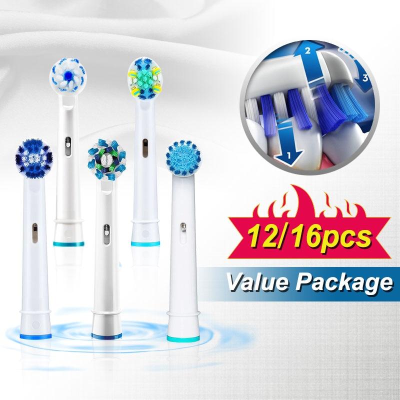 cabecas de escova de dentes eletrica oralb para escova de dentes eletrica rotativa vitalidade substituicao cabecas