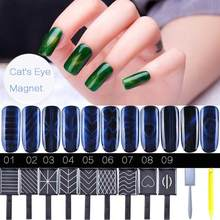 1pcs 3D Magnetic Long Lasting Soak Off Cat Eyes Nail Varnish Gel Polish Tool Nail Nail Cat Gel Eye O5S3(China)