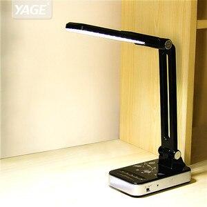 Image 1 - Esnek masa lambası 1800mAh şarj edilebilir lambaları masa 30 adet Led masa lambası 5 mod karartma dokunmatik ofis iş Led masa lambası