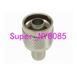 Image 4 - 10 stücke Stecker N männlichen Stecker crimp RG8 RG213 RG165 LMR400 7D FB kabel gerade
