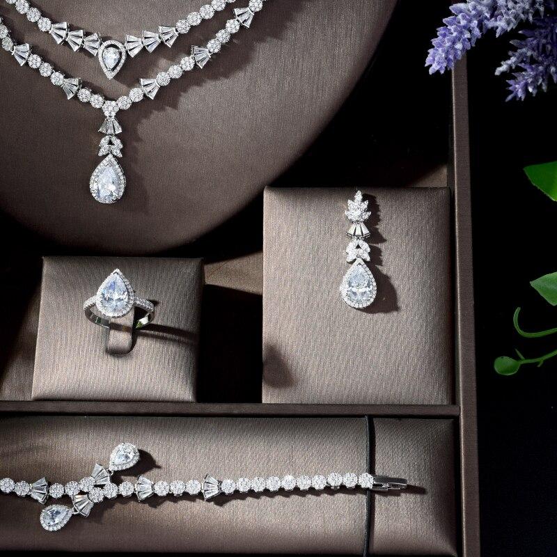 Hibride novo delicado conjuntos de jóias de