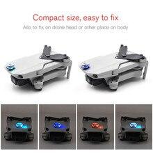 Kit de Flash LED colorido recargable para DJI Mavic Mini Drone accesorios decoración de luz única