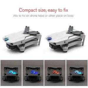 Image 1 - Kit de LED Flash coloré Rechargeable pour DJI Mavic Mini Drone accessoires décoration de lumière unique