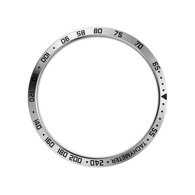 For Samsung Galaxy Watch 46Mm Smart Watch Bezel Ring Adhesive Cover Anti Scratch Metal  Ring