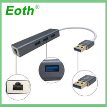 Высокоскоростной адаптер для передачи данных usb 1000 с 3 портами