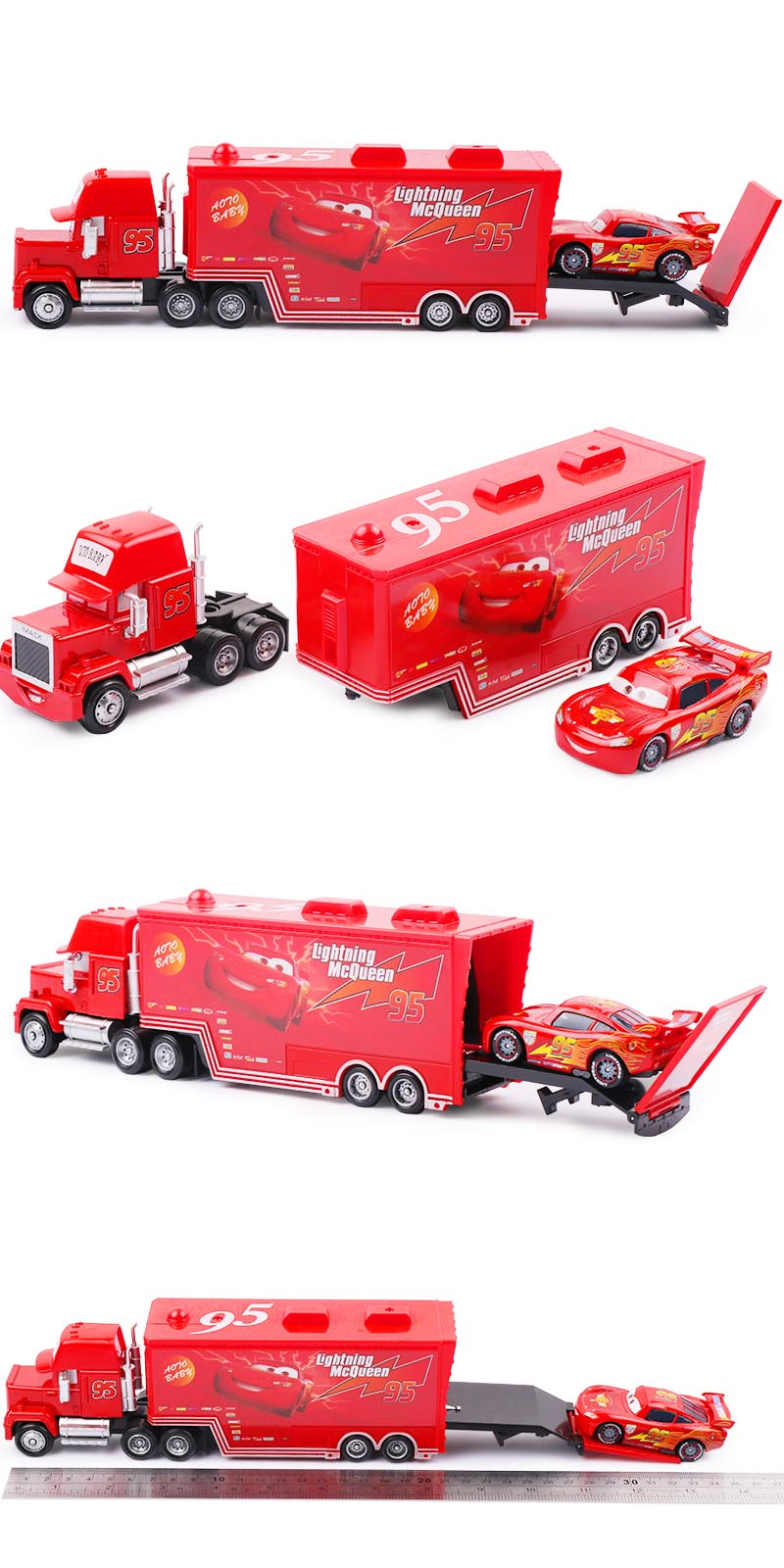 Disney Pixar Cars 2&3 Toys Lightning McQueen 8
